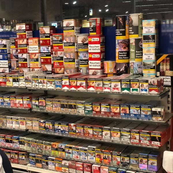 Kassenkulisse Supermarkt Kiel
