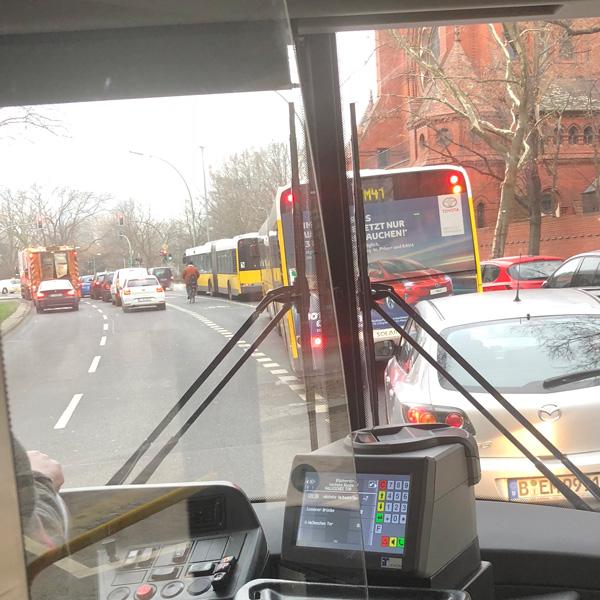 Nichts in Berlin ist so Scheiße wie diese Buslinie